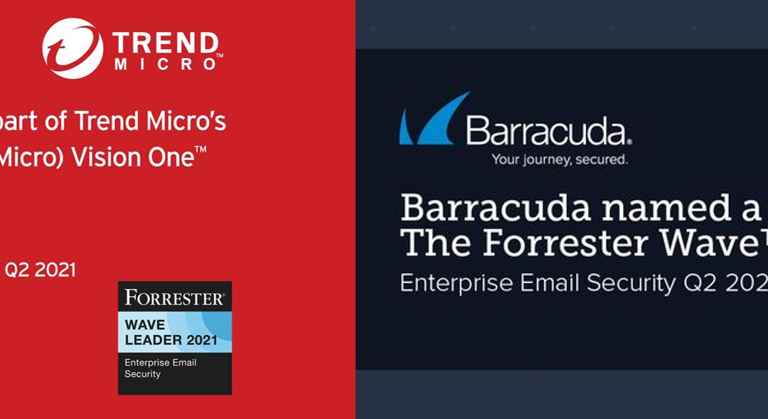 Η Barracuda & η Trend Micro ηγέτες στο Enterprise Email Security για το Q2/2021